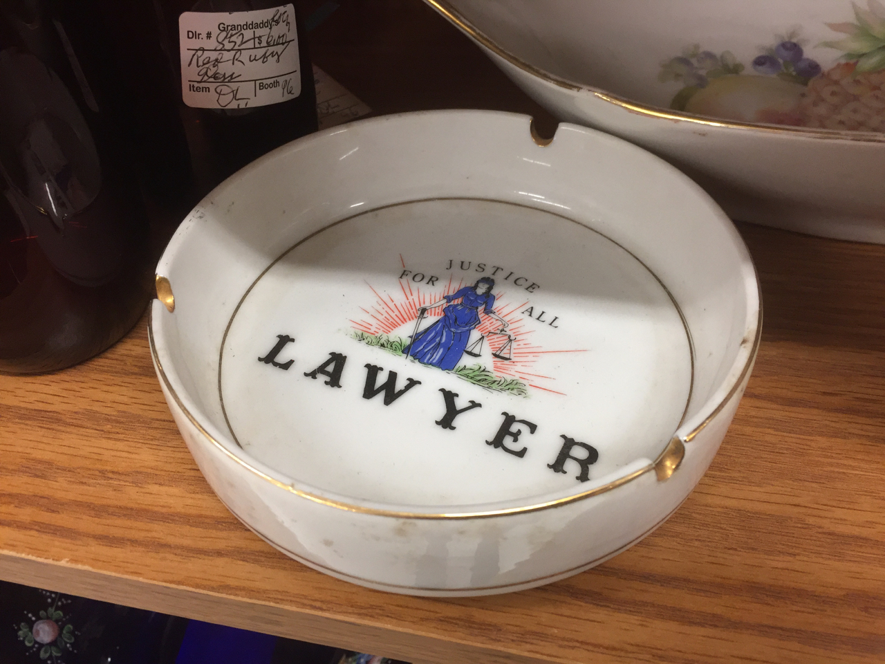 rub your butt on a lawyer