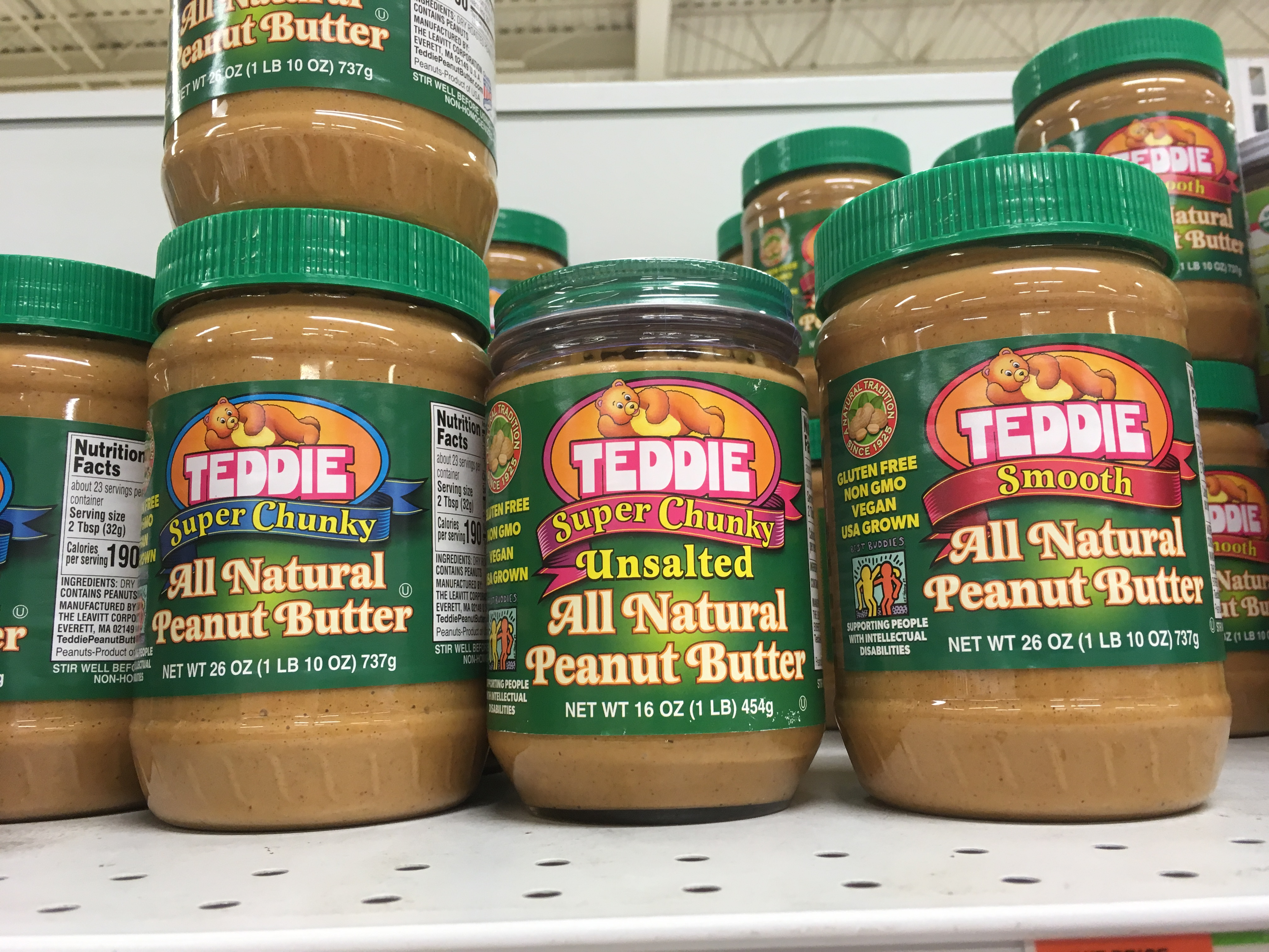 why I bought the wrong peanut butter...