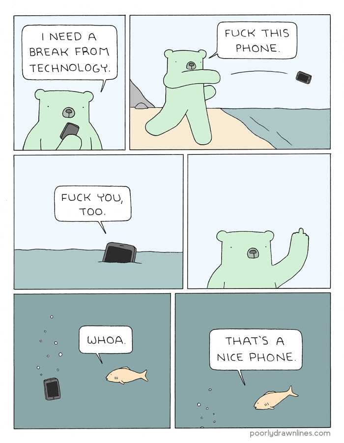 Poorly Drawn Lines – Phone