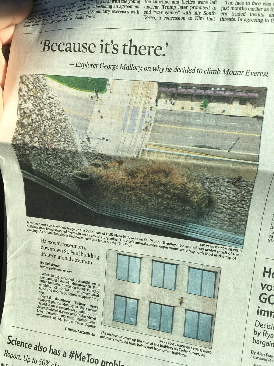 Great moments in newspaper layout