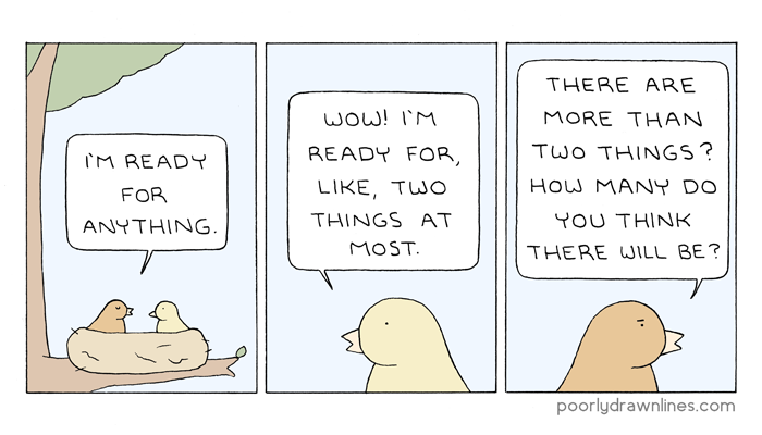 Poorly Drawn Lines – Ready