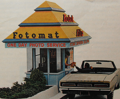 Fotomat (remembered the name, not the spelling)