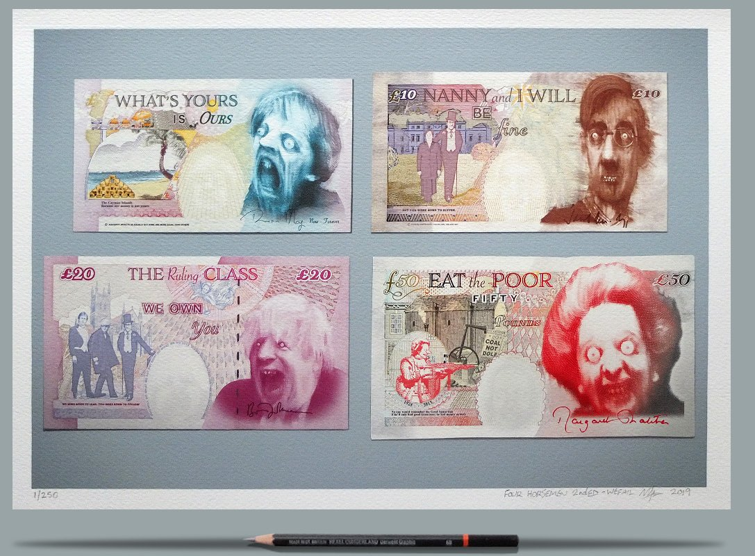 Post-Brexit Pound Notes
