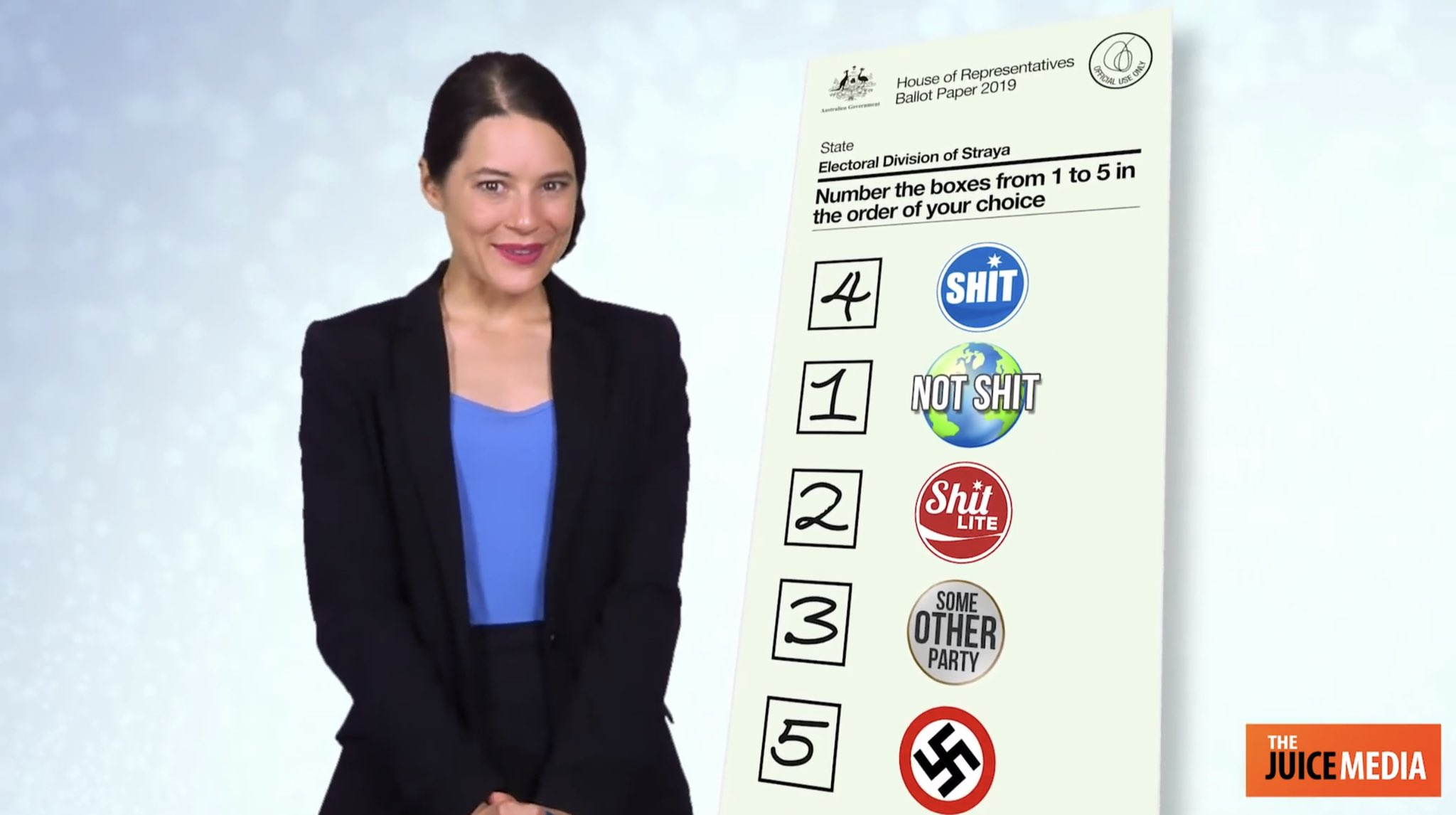 Preferential voting in action
