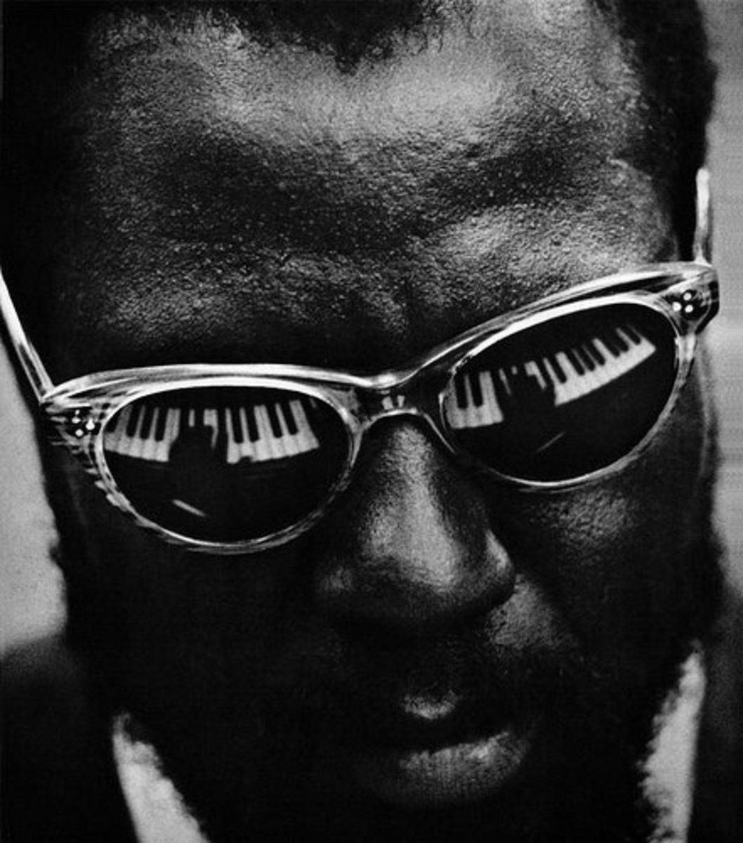 Thelonious Monk - by Lawrence Shustak 1962