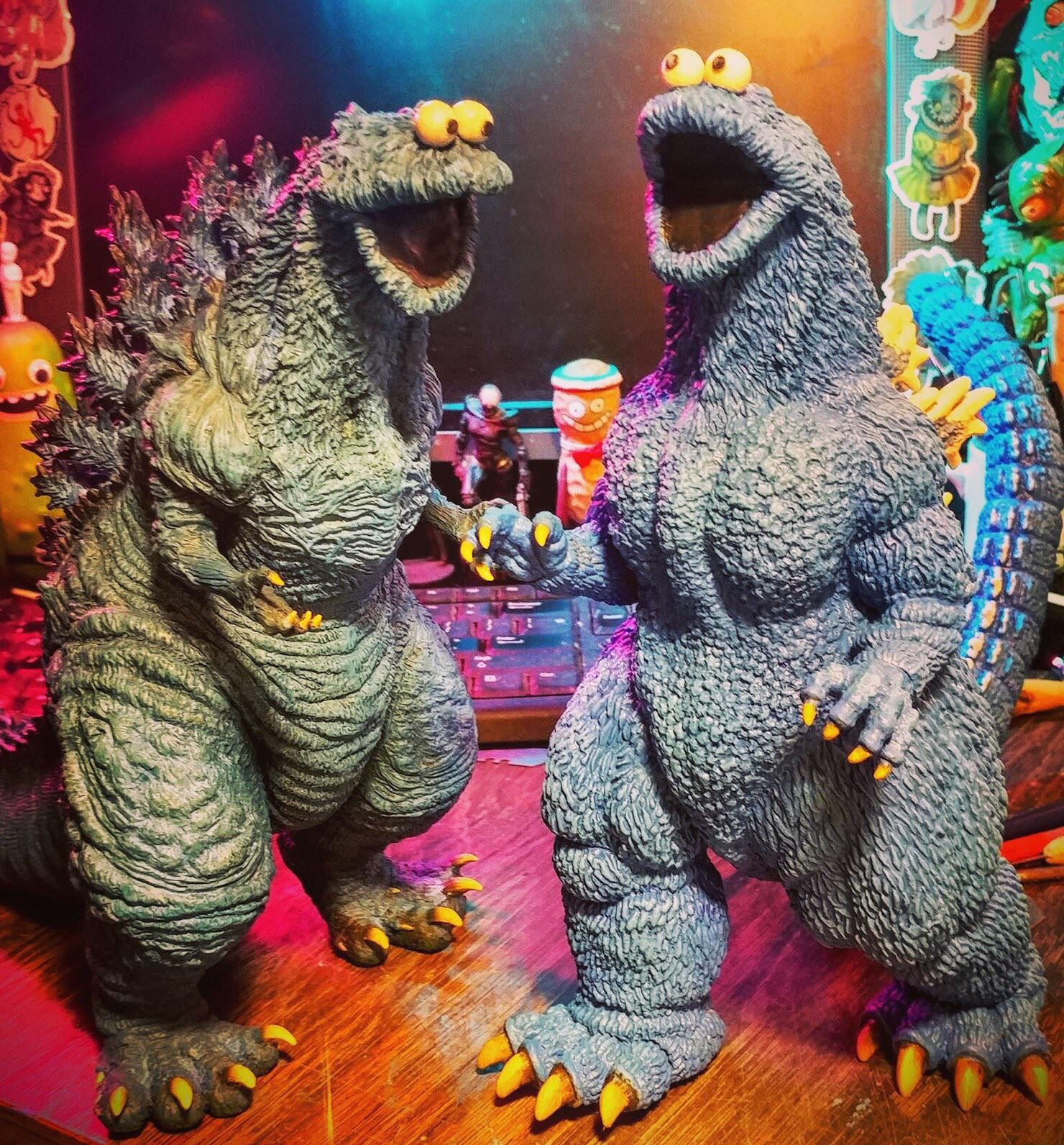 Gojira Cookie Monsters