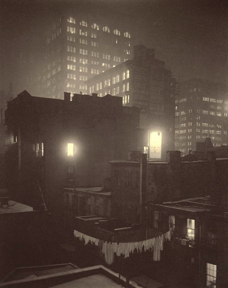 Alfred Stieglitz, From the Back Window at 291, New York, 1915