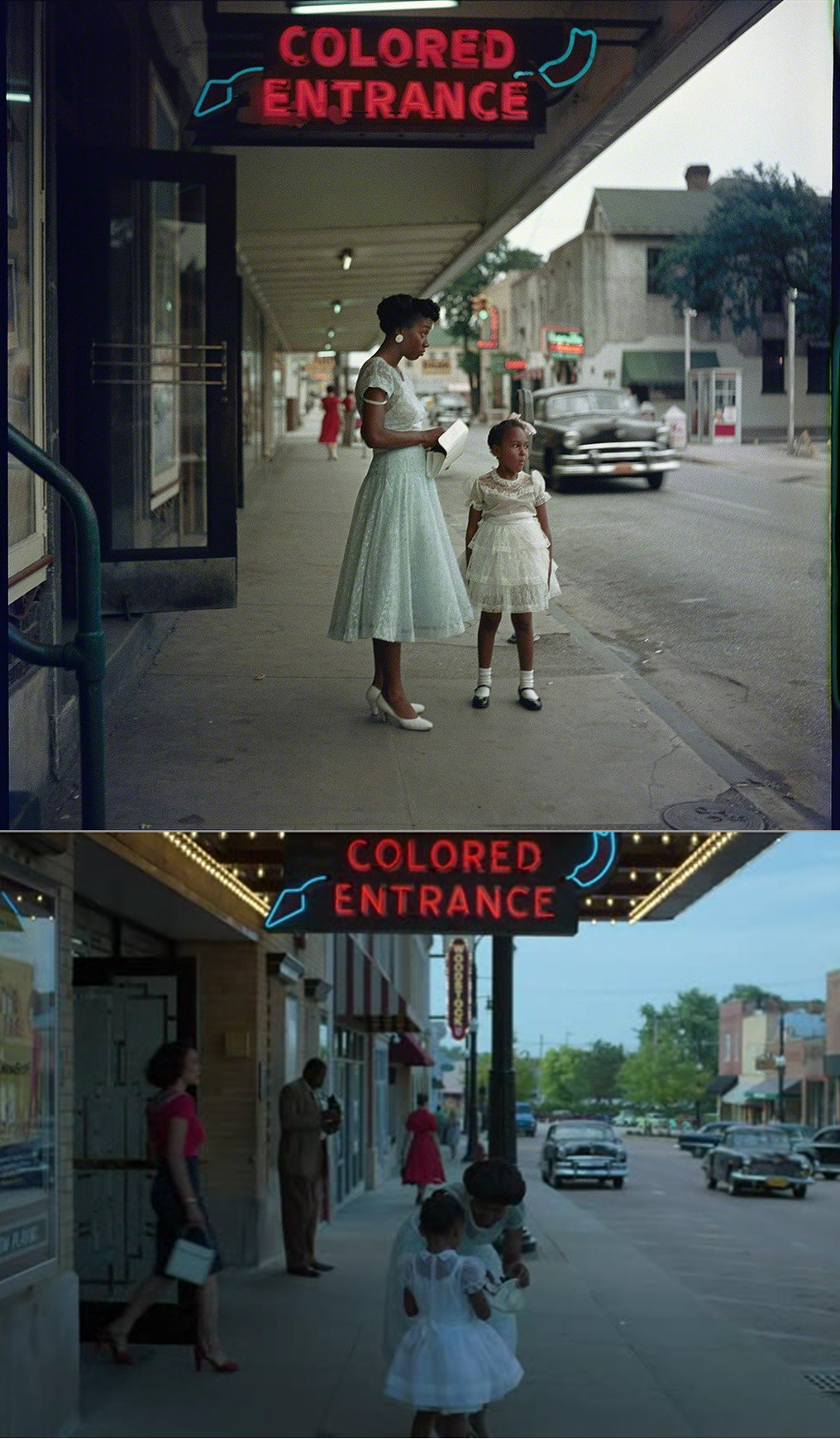 Gordon Parks photo 1956, Lovecraft Country 2020 | MLTSHP