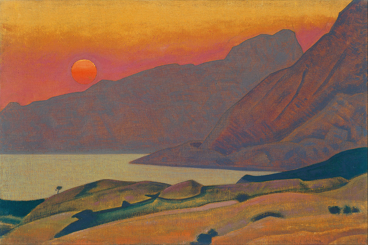 monhegan, maine by roerich