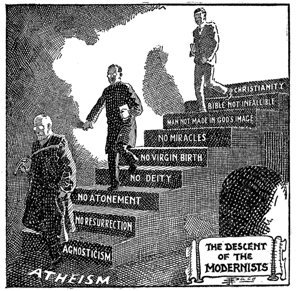 The Descent of the Modernists