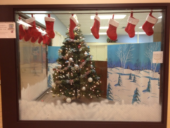 can you spot the menorah in this public school display?